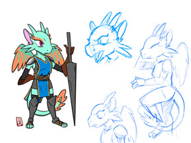 Unnamed Dragon Knight
