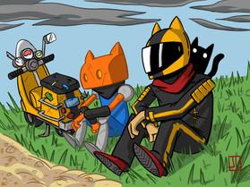 Moto Y Robo