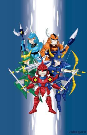 5 Warriors