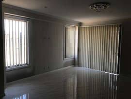 Vertical Blinds White colour done by Maj