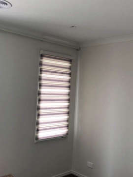 Zebra Roller Blinds done by Majestic Cur