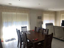 Sheer curtains with Roller Blinds done b