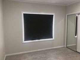 Blockout Roller Blinds done by Majestic