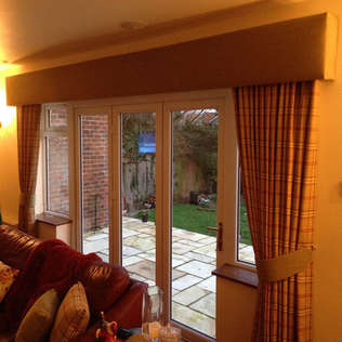 Blockout Drapes (Curtains) with Pelmet b