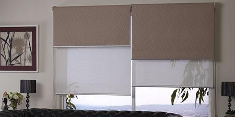 Roller blinds, Double day and night blin
