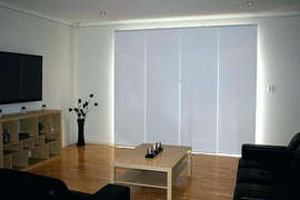 Panel Blind done by Majestic Curtains an