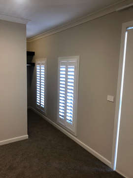 White Plantation Shutter done by Majesti