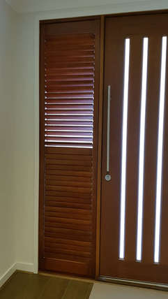 Stained (coloured) Plantation Shutters d