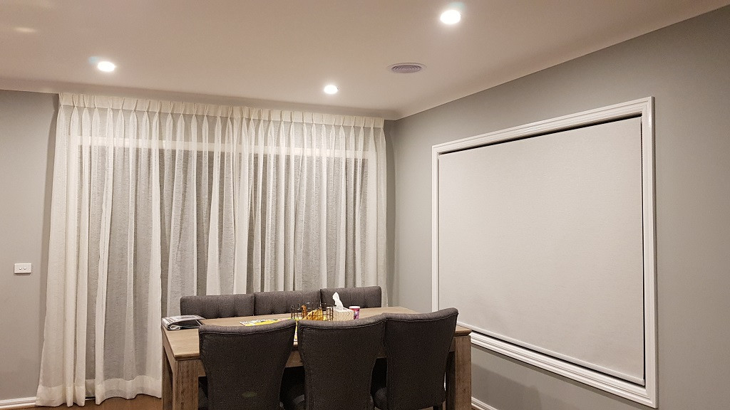 Sheer Curtains With Roller Blinds Maje