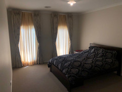 Blockout Drapes with Sheer Curtains done