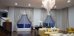 Drapes with Blackout lining and Tie Back