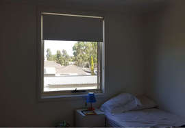 White Roller Blinds - Majestic Curtains