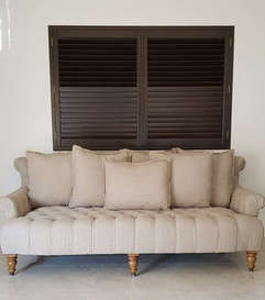 Planation Shutter on a Nook Done by Maje