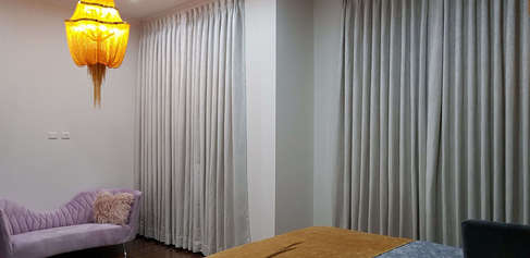 Drapes with blockout lining (Curtains) d