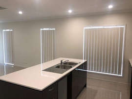 Vertical Blinds done by Majestic Curtain