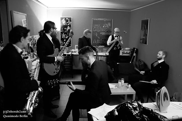 Baba Soul & The Professors of Funk - Backstage