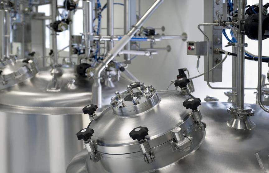 Pharmaindustrie Oberflächen veredeln