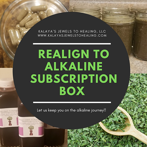 Realign To Alkaline Monthly Subscription Box