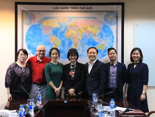 University of Economics and Business (UEB-VNU) with Hunter Global Education