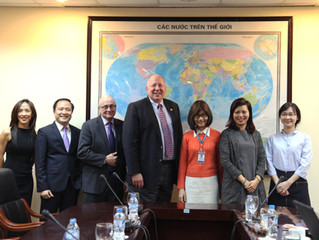 Exchange with representatives of University of St. Francis