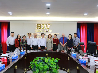 A new partnership between Felician University and Hong Bang International University!