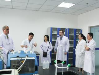 美国颗粒实验室(PTL)访问省药品检验检测院