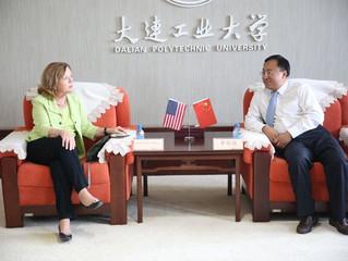 President Li Rongde Met with President of GMercyU