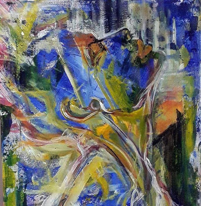 symptoms tell your story, painting samara luebbe