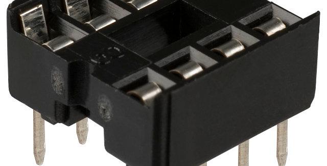 Base para circuito integrado de 8 pines