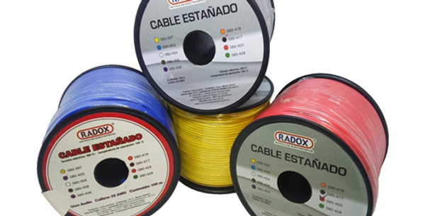 Cable estañado AWG22