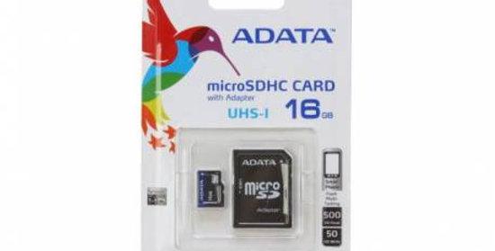 Memoria ADATA micro SD 16GB
