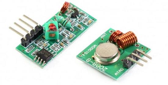 Modulo Radiofrecuencia 433MHz