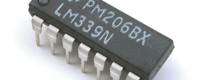 Pic LM339N comparador