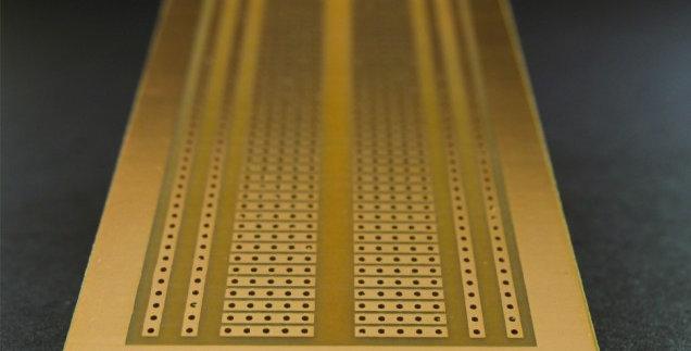 Placa Fenolica Perforada Tipo Protoboard