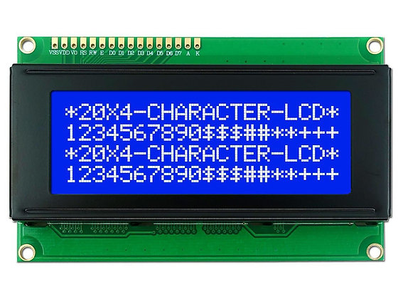 LCD Display 20x4 azul