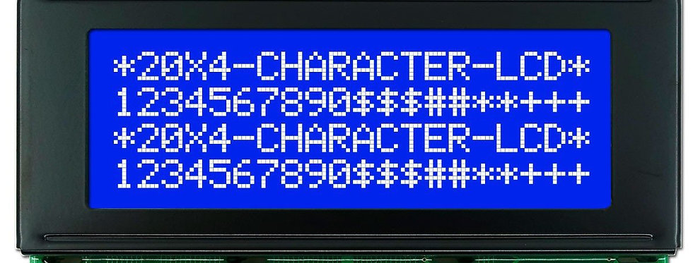 LCD Display 20x4 azul