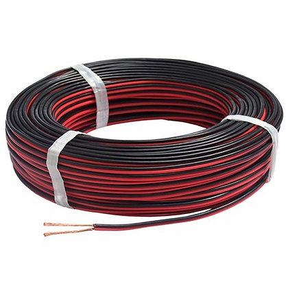Cable para bocina, 18 AWG, Bicolor