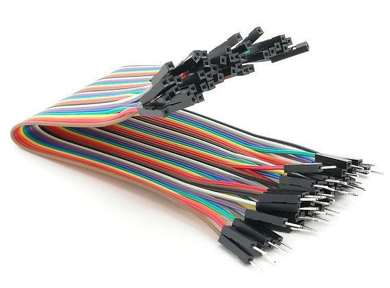 Cable dupont M-H de 20cm