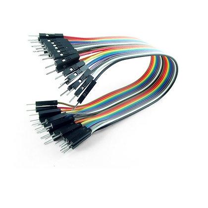 Cable dupont M-M de 20 cm