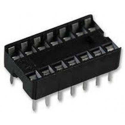 Bornera para circuito integrado de 14 pines