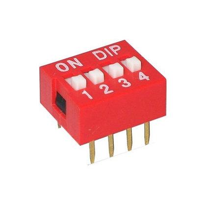 Switch DIP de 4 Canales