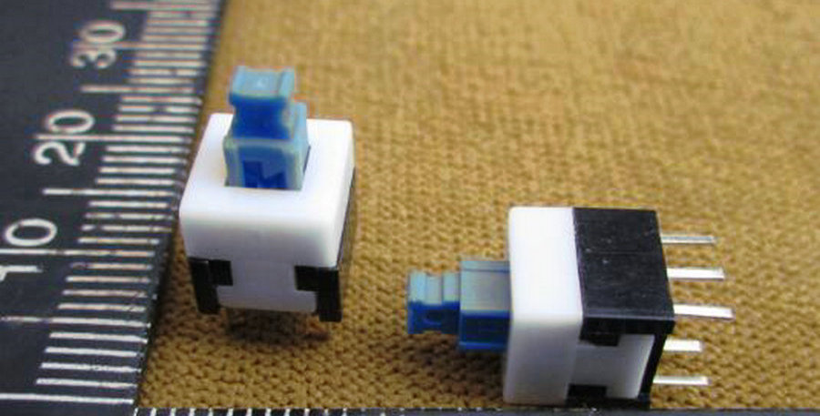 Switch 8x8mm con Enclave
