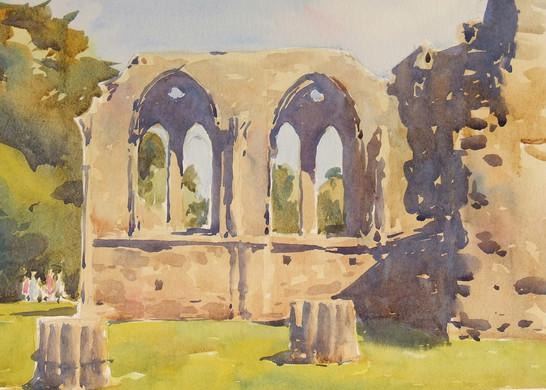 Ruins at Margam Park.JPG