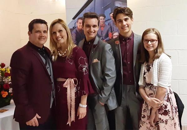Ben Johnson family singers