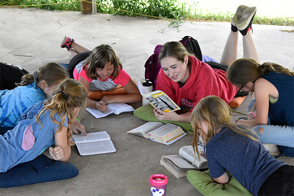 Bible Study at Camp Cherith of WNY. (Photo by Camp Cherith of WNY)