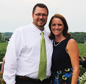 Steve Clark and his wife Ryan