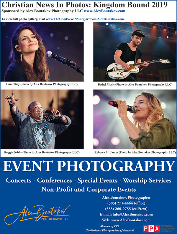 Alex Boutakov Photography LLC. Concerts, Conferences, Special Events, Worship Services, Non-Profit and Corporate Events. Headshots, Portraits, Sports and Fitness, Business, Family, Senior Photos. (585) 271-4464 (office), (585) 260-9755 (cell/text). E-mail: info@AlexBoutakov.com Web: www.AlexBoutakov.com Member of PPA (Professional Photographers of America).