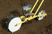 Single Row Seeder and Seed Roller