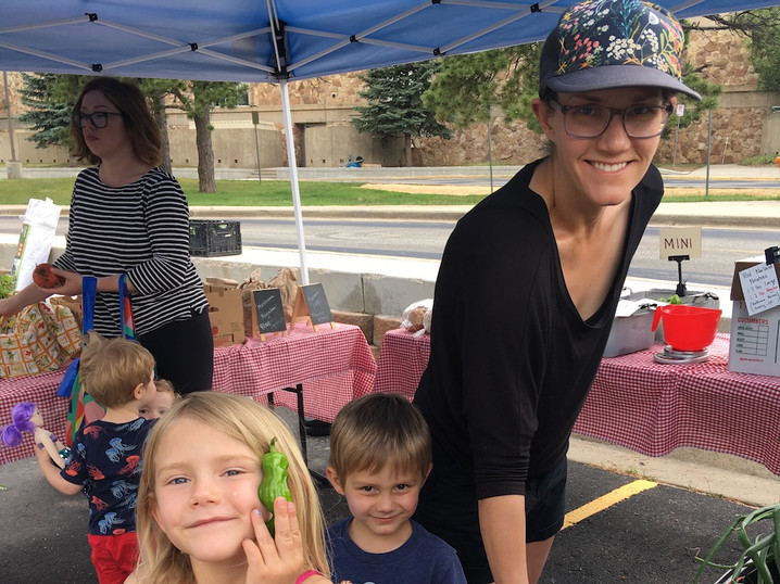 Local Food Share in Evergreen - fun for the whole family!