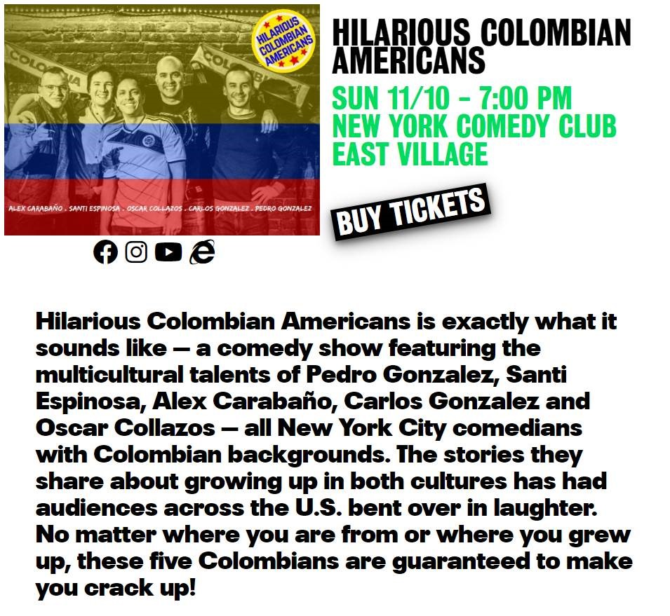 hilarios colombian americans